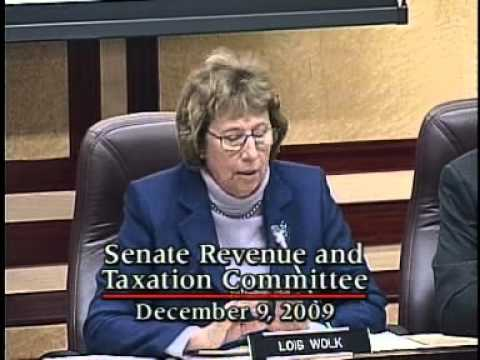 Senate Revenue and Taxation Committee 12/9/2009