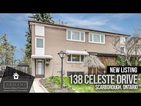 SOLD! 138 Celeste Drive In Scarborough, Toronto (Ontario, Canada)
