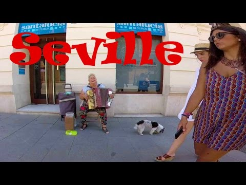 A Walking Tour of Historic SEVILLE, SPAIN (Sevilla)