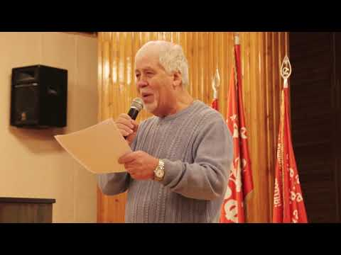Поэт Владимир Скиф читает стихотворение о Сталине
