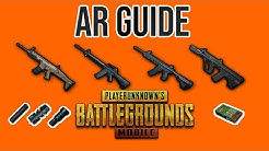 AR Guide|5.56 mm Ammo Rifles| Best Attachments| PUBG Mobile
