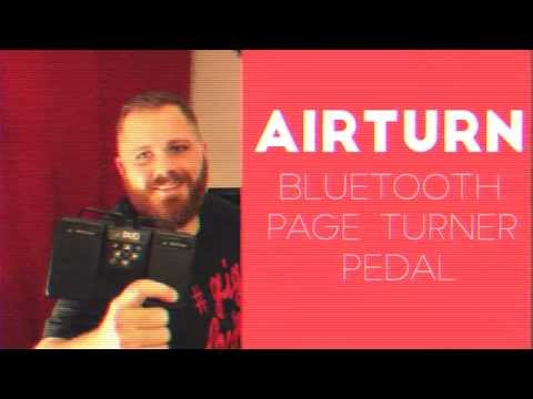 Review: AirTurn Bluetooth Page Turner Pedal
