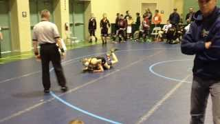 Stevo Poulin (Journeymen, NY) vs. Anthony White (Triumph, NJ)