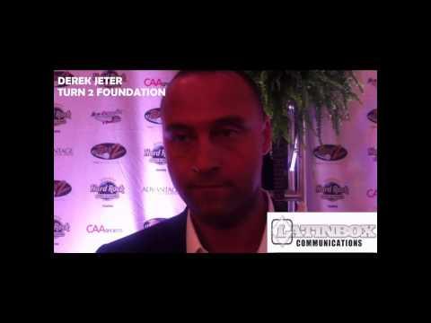 Derek Jeter Interview about Turn 2 Foundation