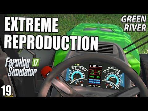 EXTREME REPRODUCTION | Farming Simulator 17 | GreenRiver - Episode 19