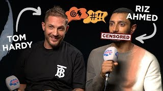 Tom Hardy And Riz Ahmed Get Sweary With X-Rated Tongue Twisters