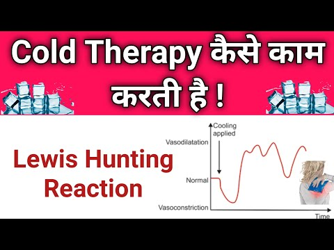 Cold Therapy Physiological Response | Lewis Hunting Reaction | Cold Therapy