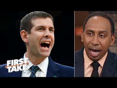 Stephen A. has so many questions about Brad Stevens' coaching | First Take