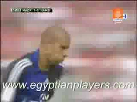 Mohamed Zidan Goal VS Real Madrid