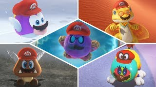 Super Mario Odyssey - ALL 52 Captures & Where To Find Them! [100% Capture List]