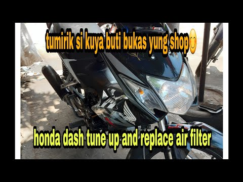 Honda Dash Tune Up And Replace Air Filter