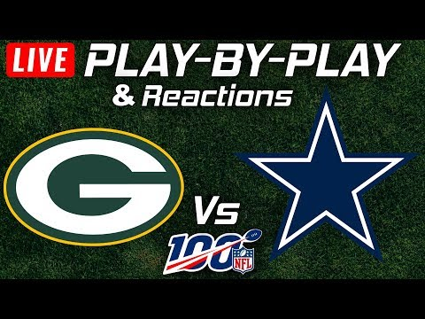 Packers Vs Cowboys | Live Play-By-Play & Reactions