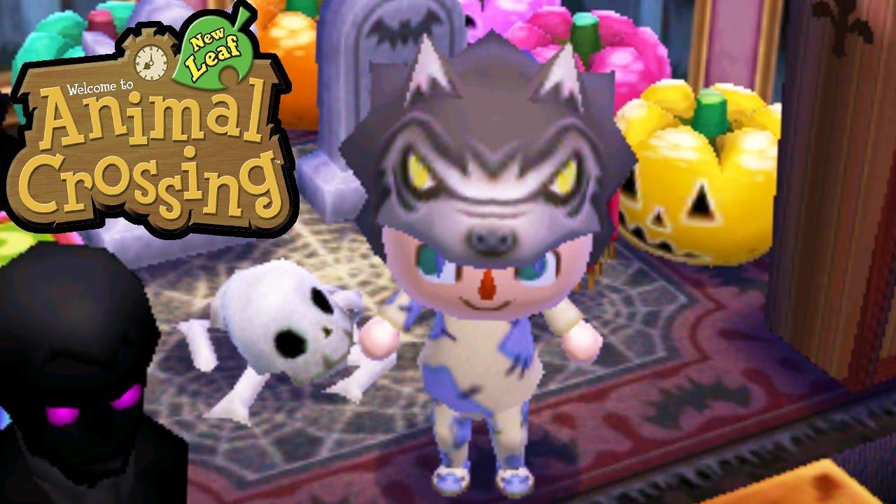 Animal Crossing: New Leaf - 3DS Gameplay Walkthrough - Halloween ...