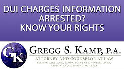 Criminal Defense Attorney DUI Charges Lakeland FL Tampa FL Plant City FL
