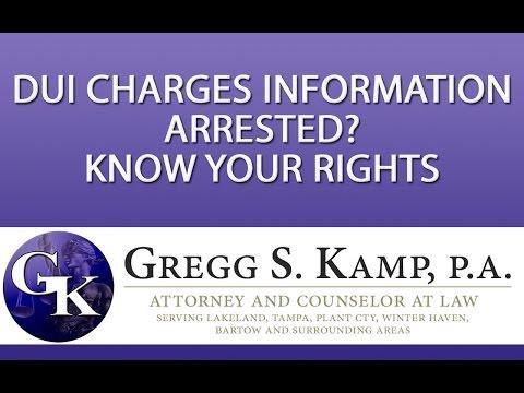 Criminal Attorney DUI Drug Charges Lakeland FL Tampa FL Plant City FL http://www.GreggKamp.com