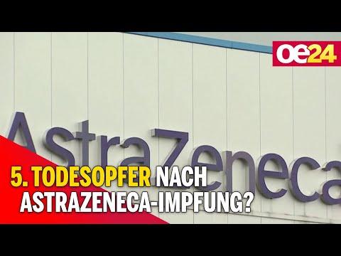 Verdacht: 5.Todesopfer nach AstraZeneca-Impfung