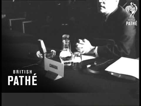UN Conference At Lancaster House (1957)