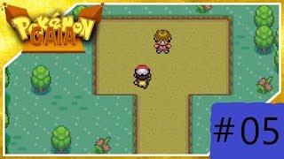 Pokemon gaia retando el lider de gimnasio a un combate capitulo 5