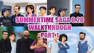 SUMMERTIME SAGA 0.20 MAIN STORY   WALKTHROUGH/GAMEPLAY (PART 1) screenshot 2