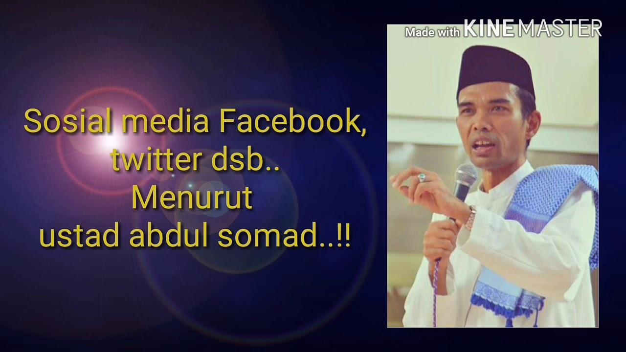 Ceramah lucu Ustad Abdul Somad, facebook & twitter - YouTube