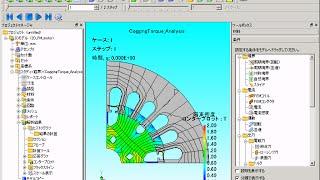 JMAG-Designer:磁界解析におけるモータの遠心力解析