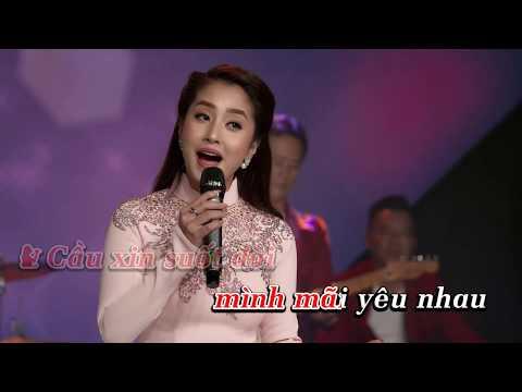 Karaoke Nửa Đêm Nguyện Cầu Song Ca Trường Tuấn Thu Hằng / Phối Mới Hay Nhất