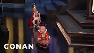 The Royal Baby's Grand CONAN Debut  - CONAN on TBS
