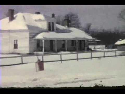Snow Storm Back In The 1960s - Lexington NC