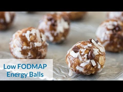 Low FODMAP Energy Balls