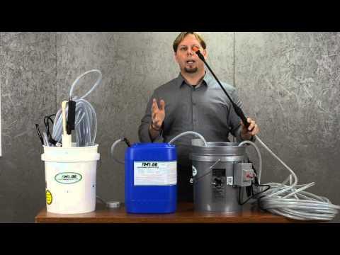 How to work the RMR bucket sprayer