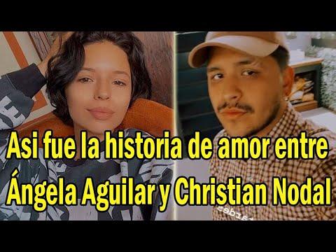 Así fue la historia de amor entre Ángela Aguilar y Christian Nodal