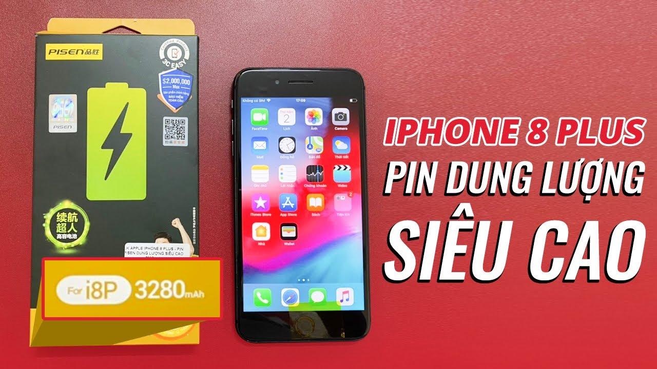 Thay Pin DUNG LƯỢNG SIÊU CAO 3280mAh Cho iPhone 8Plus