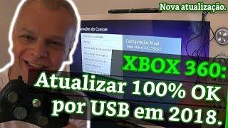 XBOX 360: Atualizar 100% OK por USB em 2018.