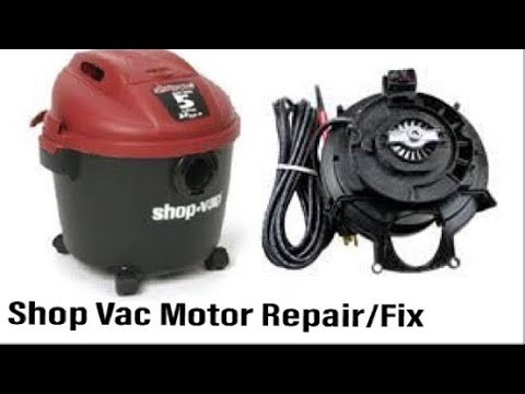 "Shop Vac Troubleshoot & Repair Shop Vac Dead ""No Start"" Fix (Please Subscribe)"