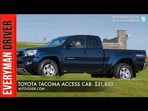 top 5 most affordable pickup trucks on everyman driver youtube. Black Bedroom Furniture Sets. Home Design Ideas