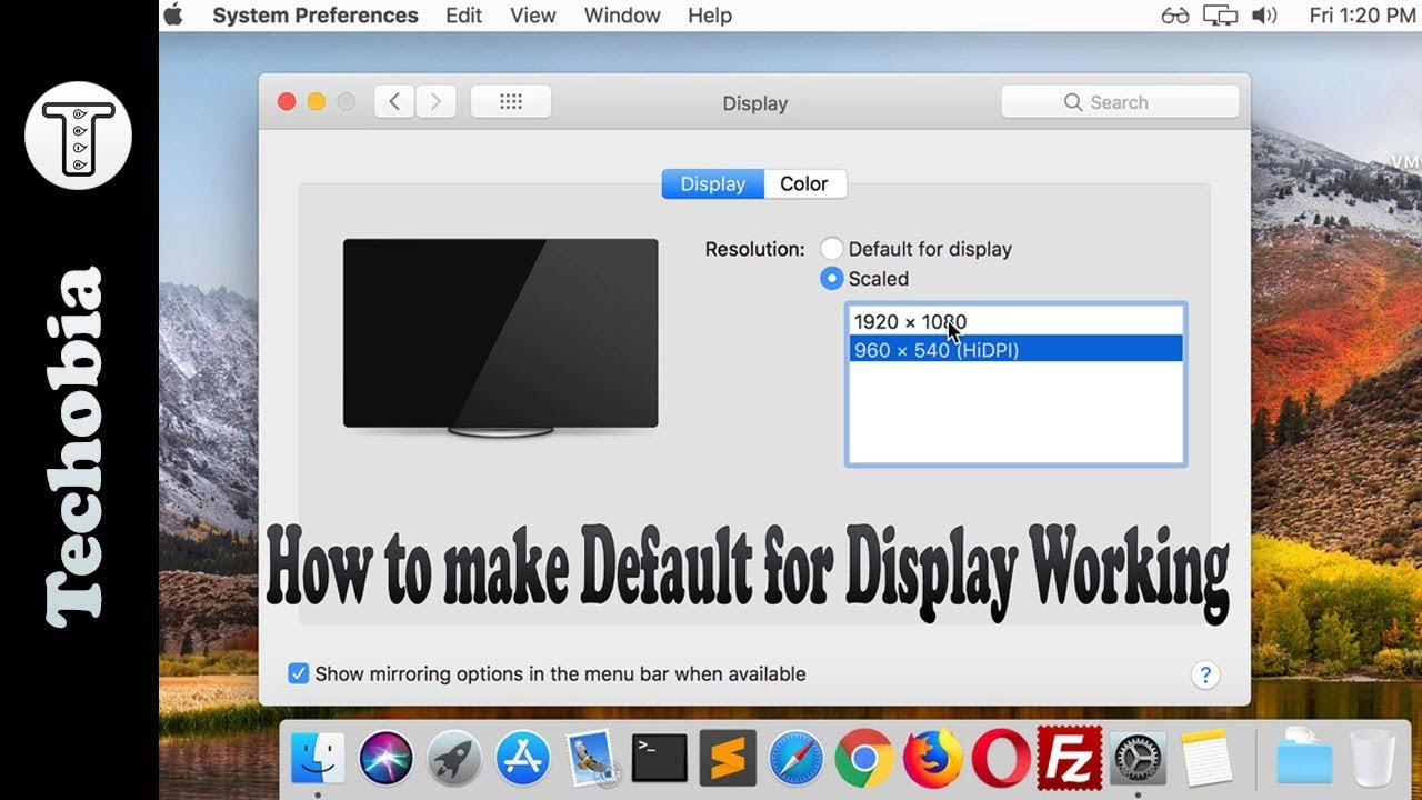 Automatic HiDPI fix for High Sierra in VMWare Workstation 14