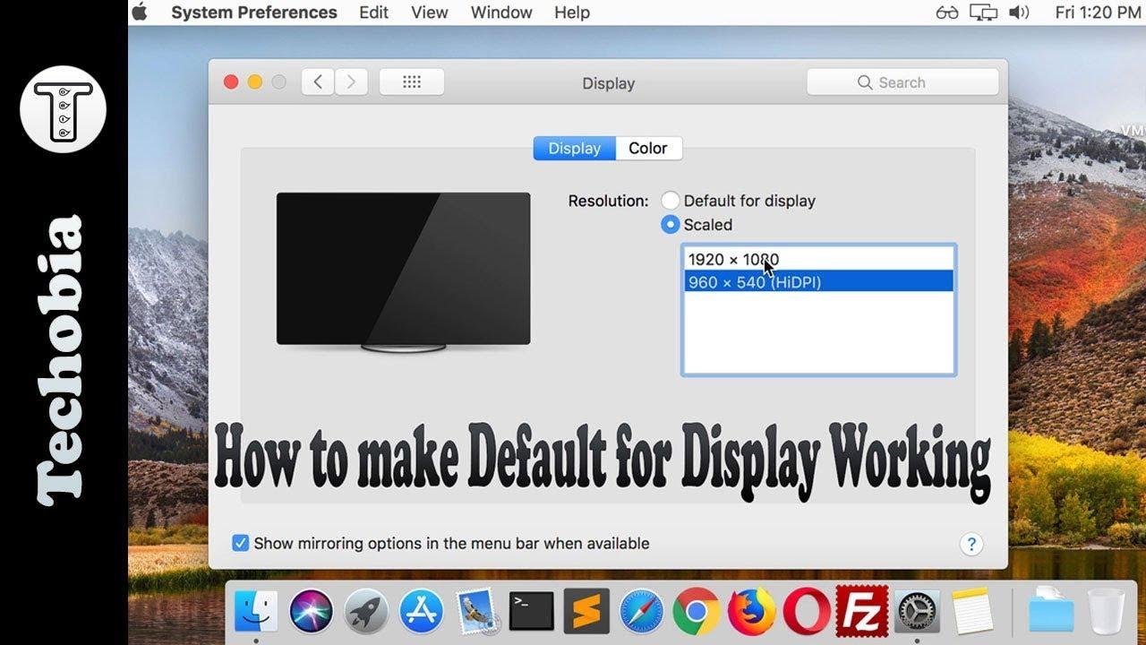 mac os x on vmware workstation 14