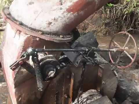 Local made micro hydropower at Matamba village    Tanzania