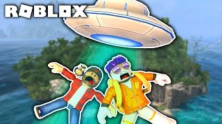 WILL WE SURVIVE THE UFO HIJACKING? | ROBLOX #admiros