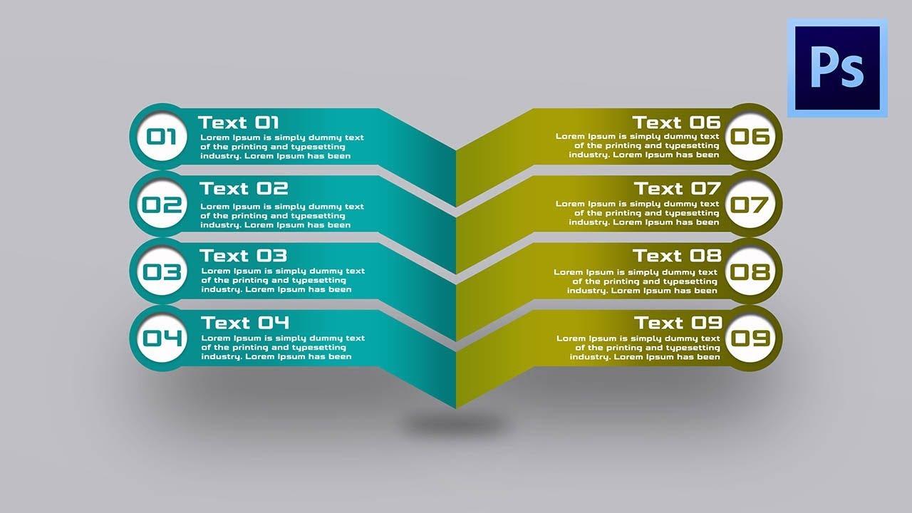 Photoshop tutorial infographic modern arrow graphic design youtube photoshop tutorial infographic modern arrow graphic design ccuart Choice Image
