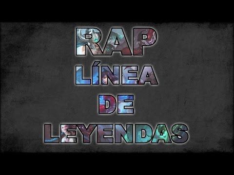 RAP LOL | LINEA DE LEYENDAS | Zarcort, Cyclo, Shark, Keyblade, Jacky