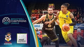 Filou Oostende v medi Bayreuth - Highlights - Basketball Champions League 2018-19