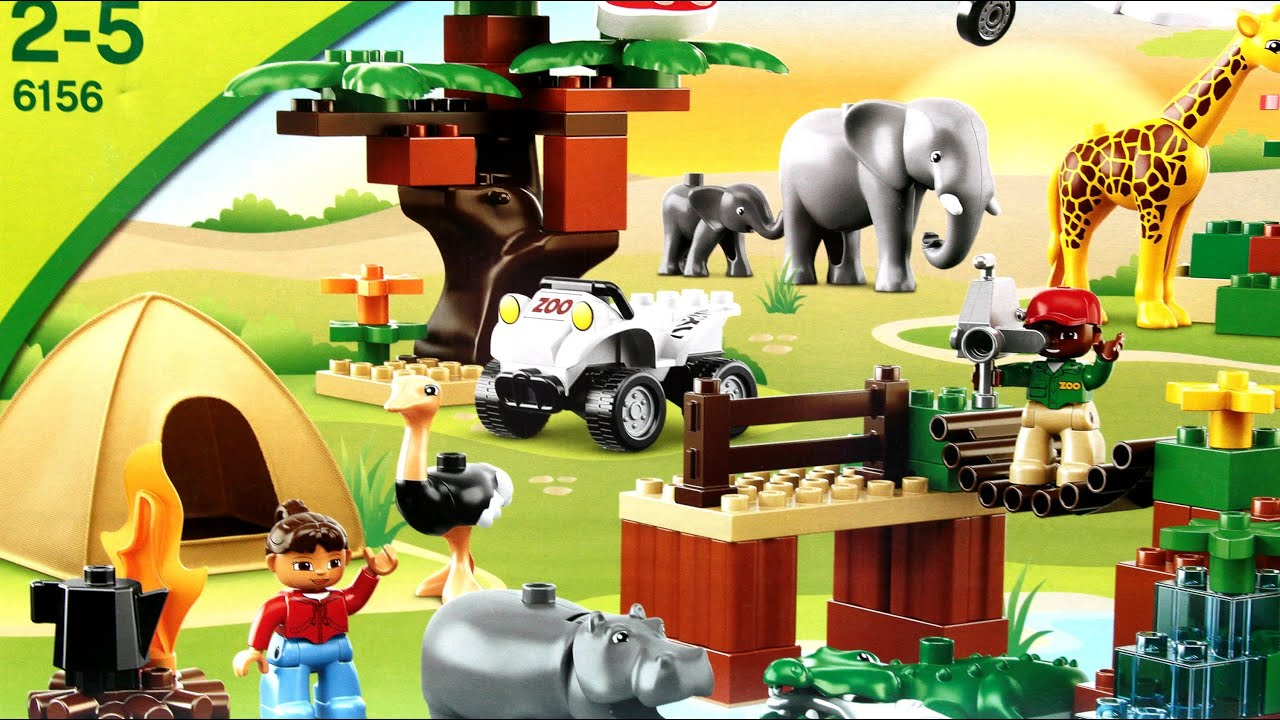Photo Safari Fotosafari Lego Duplo Wwwmegadyskontpl Youtube