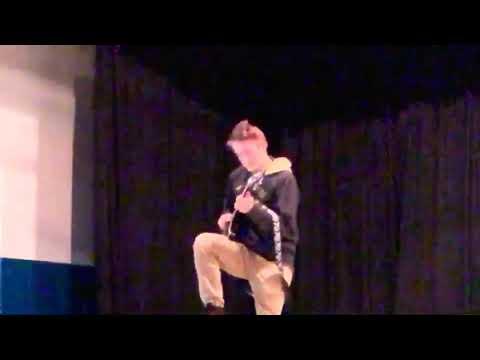 Van Halen - Eruption (Bourbon High School Talent Show)