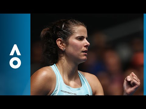 Sofia Kenin v Julia Goerges match highlights (1R) | Australian Open 2018