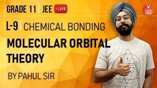 Chemical Bonding -L9 | Molecular Orbital Theory (MOT) | Class 11 Chemistry| IIT JEE Mains & Advanced