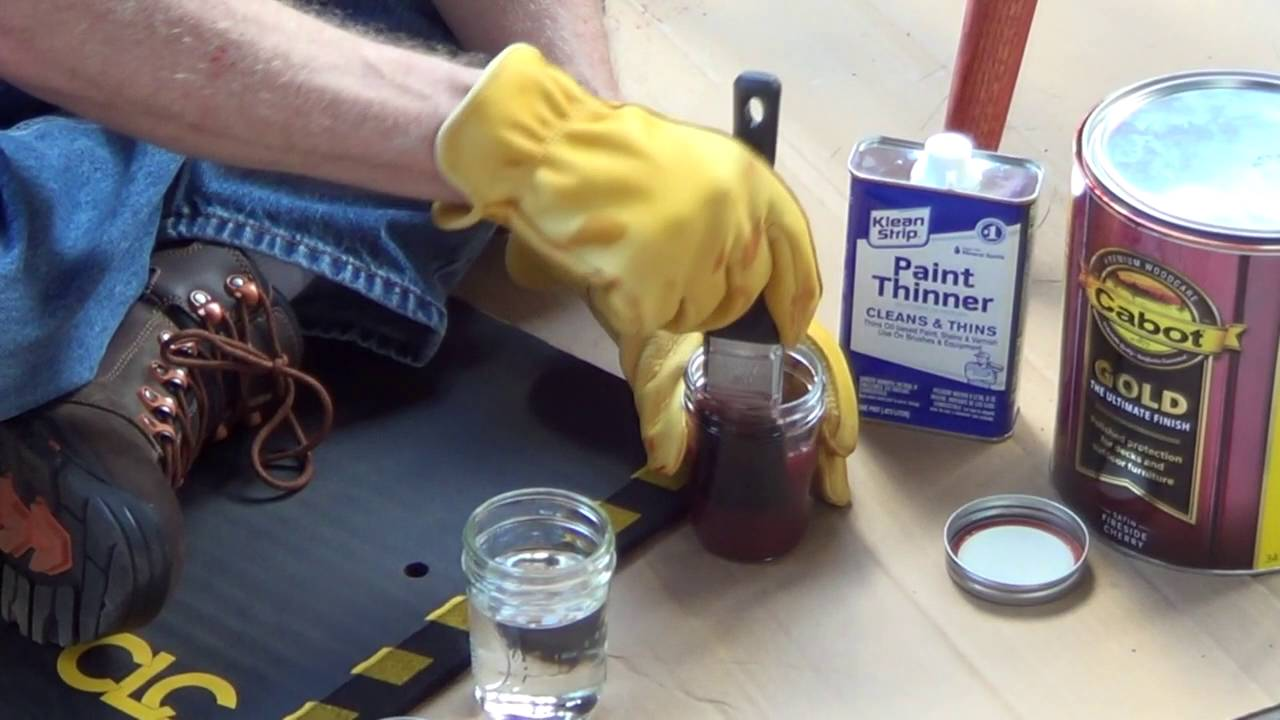 Can Mineral Spirits Be Used To Clean Wood