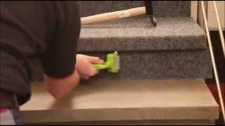 Oprava vyšliapaných schodov