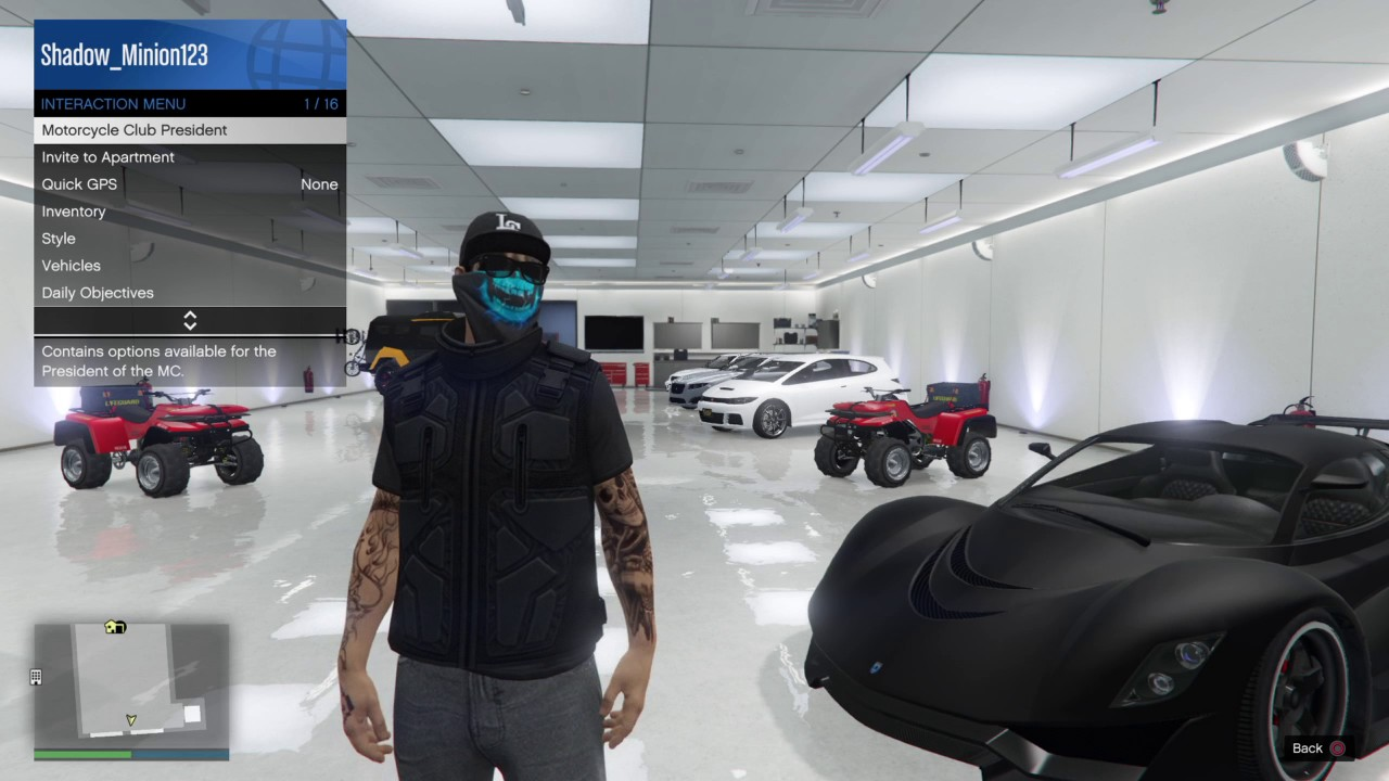 how to become a motorcycle president gta 5