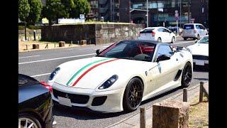 [都内]スーパーカーサウンド集 / Supercar acceleration sounds. Aventador Anniversario and the others supercars.